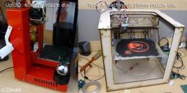 3D printer nozzle diameter