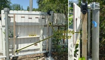 Diy how to build your own cantilever sliding gate 1 make a plan diy how to build your own cantilever sliding gate 3 set the solutioingenieria Choice Image